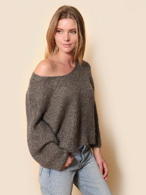 MOHAIR ORSAY SWEATER