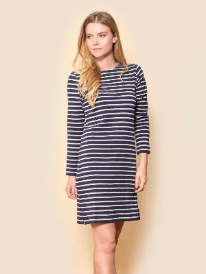 BREHAT LUREX® STRIPED DRESS