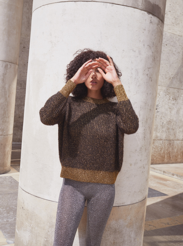 MONTREAL MOHAIR AND LUREX® SWEATER