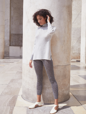 ST GERMAIN MERINO AND LUREX® TUNIC