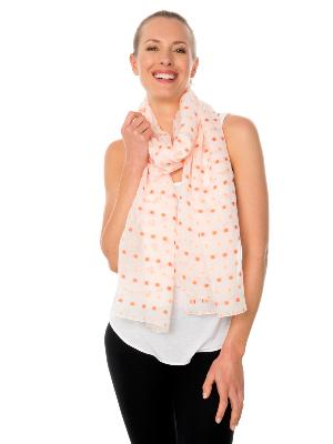 FUGUE SILK SCARF