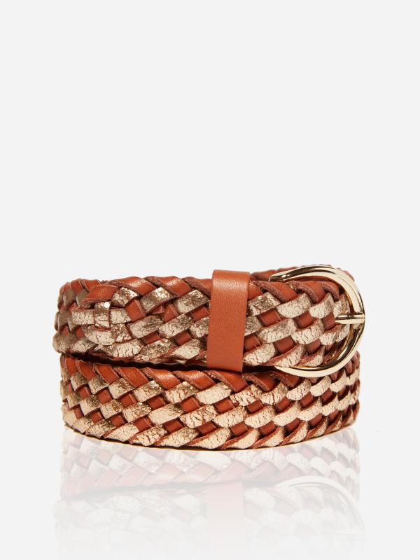Rosalie Belt Brown Gold
