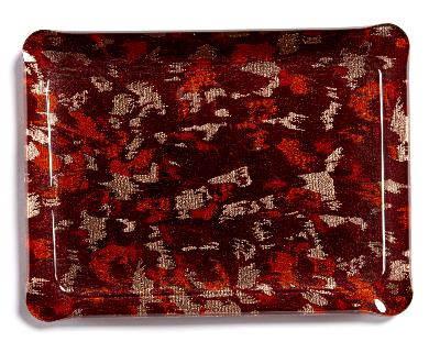 JUNGLE RED TRAY Small