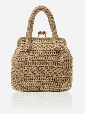 CROCHET LUREX® SCALA BAG