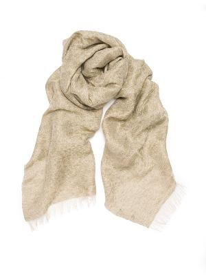 DUNE LINEN AND LUREX SCARF