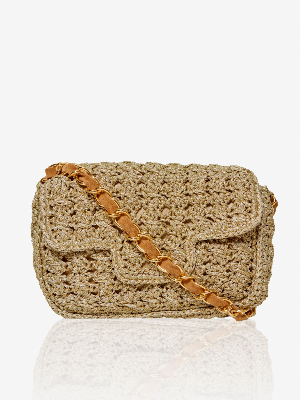 CROCHET LUREX® FENICE BAG