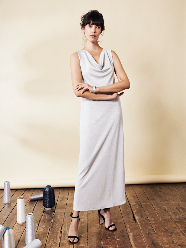 LISA LONG DRESS LUREX®