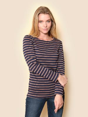 ST MALO LUREX® STRIPED SHIRT